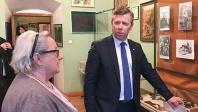 Wizyta Wicewojewody Piotra Ćwika w olkuskim PTTK.