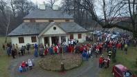 Orszak Trzech Króli w Bolesławiu koło Olkusza.